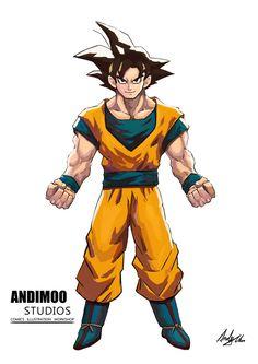 Goku by AndiMoo on DeviantArt