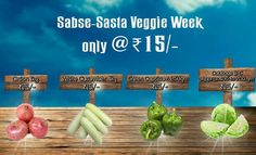 Sabse Sasta Veggie Week !!! #FarmFreshVegetables Available Only At Grocery Mantra https://www.grocerymantra.com/vegetables.html #OnlineSuperMarket #OnlineGroceryShopping #TingTing #JaiHind #SaveWater