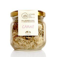 Contém aproximadamente: 124gr sal marinho e 6gr ervas biológicas (salsa, tomilho bela luz e louro).