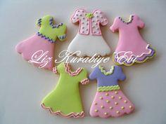 dress cookies by liz kurabiye evi, via Flickr