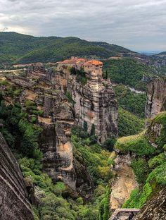 Les destinations les plus spectaculaires du monde - Meteora Grece