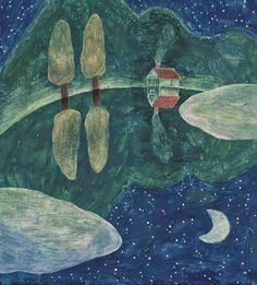 柿本 芳枝 / Yoshie Kakimoto Illustration Japanese Illustration, Illustration Art, Sketchbook Inspiration, Japanese Artists, Nature Paintings, Time Art, Painting For Kids, Cute Drawings, Art Inspo