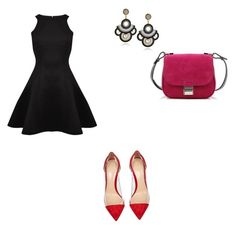 """h.l"" by hanika15 on Polyvore featuring мода, Gianvito Rossi, Ted Baker и Proenza Schouler"