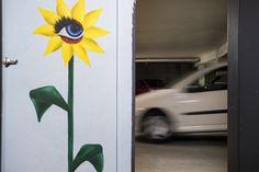 """Parc LPA Grôlée - Oeuvre """"J'irai fleurir sous tes reins"""" de Laure Mary-Couégnias. Expo visible du 16 mai 2017 au 7 janvier 2018"""
