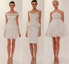 reception dresses!