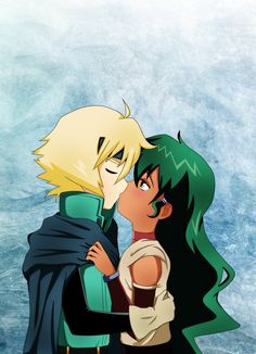 DeviantArt: More Collections Like Lief X Jasmine Kiss by ...