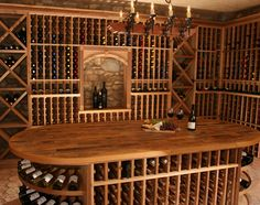 Wine Cellar - Oh to have one in our house - I think that hubby would be extremely happy!