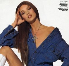 Pinterest @chloejc03 Young Kate Moss