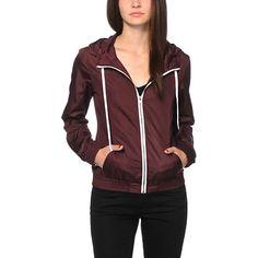 552882e728 Zine Blackberry Windbreaker Jacket