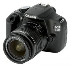 Canon EOS 1200D front for better photography of my cakes