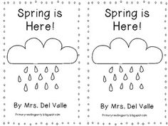 Spring is Here! Emergent Reader