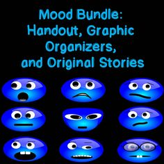 In includes: a 3 page Mood Handout that can be printed for students as a handout or projected on the smart board. It is very clear and focuses on what is what, how it is developed, and provides examples. Two original short stories and poem is also included. These can be used during modeling, mini-lessons, extension activities, or for homework.  answer key and story analysis is included. 14 different graphic organizers that can be used with any text are also included.