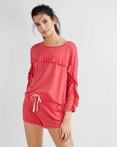 ebfe481444b Express One Eleven Soft Drawstring Shorts Pink Women s Medium