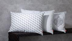 Vankúše z kolekcie Rustica.  #vankuse#spalna#obyvacka#kuchyna Throw Pillows, Bed, Fabric, Collection, Home, Tejido, Toss Pillows, Tela, Cushions