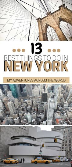 Visiting the Big Apple soon? Check out this list of the best things to do in New York City which are honestly unmissable! If you are wondering what to do in New York, don't miss this exhaustive guide. | New York city travel guide | New York travel tips #NewYorkCity #NYC via @clautavani