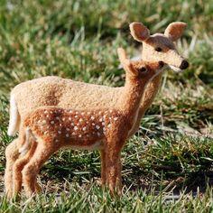 Needle Felted Deer by Teresa Perleberg