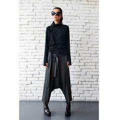 rebelsmarket_grey_maxi_pants_with_belts_extravagant_oversize_harem_pants_drop_crotch_pants_5.jpg