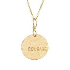 For lovely everyday jewelry, it's hard to beat our hand stamped Courage Necklace with Anais Nin quote packaging. www.becomingjewelry.com
