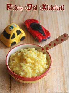 khichdi recipe for babies made using rice and moong dal.rice moong dal khichdi recipe for babies.how to make rice dal khichdi recipe. Recipes Using Rice, Recipe Using, Baby Food Recipes, Toddler Food, Toddler Meals, Moong Dal Khichdi, Clarified Butter Ghee, Baby Makes, Pressure Cooking