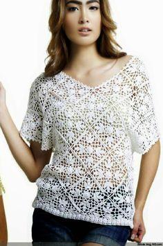 ~ Crochet Style ~: Blusas a crochet