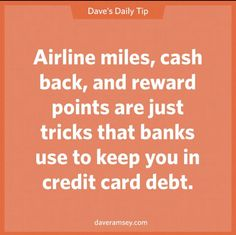 The truth is most people never use their credit card perks, and end up paying tons of interest. Financial Quotes, Financial Peace, Financial Success, Career Success, Financial Literacy, Ways To Save Money, Money Tips, Money Saving Tips, Money Budget