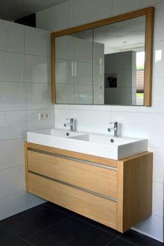 101 woonidee n badkamers on pinterest doors met and bathroom - Badkamer meubels ...