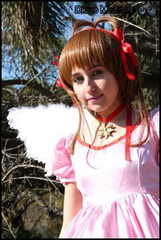 Cosplay: Sakura Kinomoto - Card Captor Sakura -- Cosplayer: Cielo Hernández -- Lugar: ((El Rosedal, Palermo 30/7/11)) -- Ph: CospPhoto