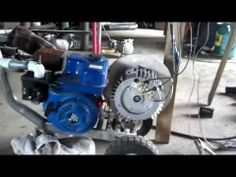▶ Compressing wood gas into propane tanks - YouTube
