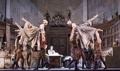 John Macfarlane for  Liam Scarlett's new full-length ballet Frankenstein (ROH)