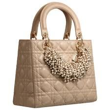 Lady Dior Bag with Pearls Dior Handbags 40c81613a2a29