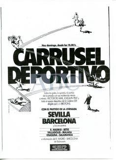 @RADIOESCUCHANTE Carrusel Deportivo, presentado por Hector del Mar, Joaquín Prat y @jjbrotons en la Cadena Ser.