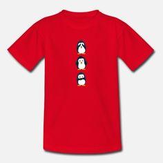 Pingvin - Pingvin T-skjorte barn | Spreadshirt Barn, Mens Tops, T Shirt, Design, Fashion, Supreme T Shirt, Moda, Converted Barn, Tee Shirt