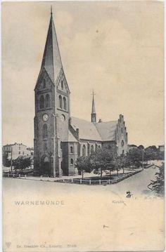 Rostock-Warnemünde, um 1910