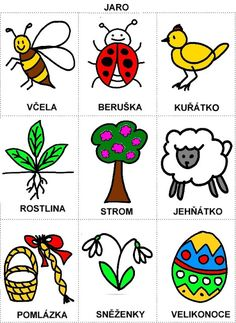 Pro Šíšu: Komunikační obrázky Aurora, Spring Crafts, Adult Coloring Pages, Book Activities, Educational Toys, Montessori, Diy And Crafts, Seasons, Teaching