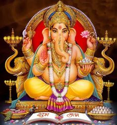 Ganesha: Remover of Obstacles, Lord of New Beginnings. Good job title....