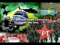 PT Declara Golpe Comunista em seu Próprio Site