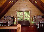 Wildwater Jawbone Cabin Loft w/twin beds