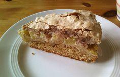 Rhabarberkuchen mit Nussbaiser (Rezept mit Bild) von jesusfreak | Chefkoch.de