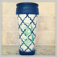 Personalized Travel Coffee Mug by Mimimadeitdesigns on Etsy, $16.00