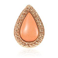 Samantha Wills Bohemian Bardot Ring Apricot/Rose Gold Jewelry Box, Jewelry Rings, Jewellery, Gold Rings, Gemstone Rings, Bohemian Rings, Samantha Wills, Rings Online, Statement Rings