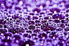 bubbles, bubbles & more purple bubbles