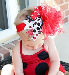 Over The Top Hair Bow Tutorial. My little girl will have this!