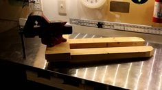 Removable Bench Vise Setup. A project that allows you to mount this setup to the bench and insert your bench vise when you need it but remove it easily when ...