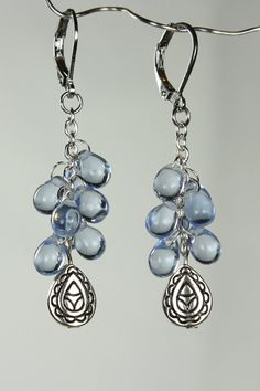 Cascade earrings by RedBeardStudios