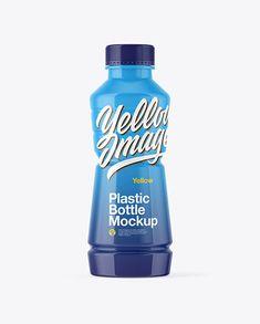 Glossy Plastic Bottle Mockup Plastic Plastic, Plastic Bottles, Bottle Bottle, Water Bottle, Sport Sport, Water Water, Bottle Mockup, Creative Words, Cool Artwork