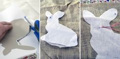 willowday: Bunny Basket Pillows