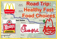 You don't have to succumb to the large fries each time you pause at an interstate fast food joint. Here are the less-famous healthy fast food choices that will keep you around the mark. Skip the soda and tea, add water. Healthy Fast Food Choices, Fast Healthy Meals, Get Healthy, Healthy Habits, Healthy Recipes, Healthy Foods, Healthy Mind, Healthy Options, Eating Healthy