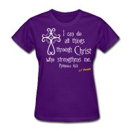 · ♥♡♥ · Philippians 4:13 · Starting at ONLY $19.99 · This is the women's style, men's is available. This wonderful design is available on several different shirt styles and multiple colors to choose from on each... Grab yours today! :)