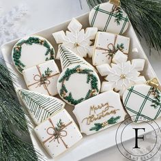 Decorating Shirts, Cookie Decorating, Holiday Decorating, Holiday Cookies, Holiday Gifts, Christmas Biscuits, Beautiful Desserts, Different Holidays, Winter Fun