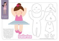 Molde Bailarina Erica Catarina